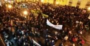 Manifestació contra les retallades en serveis públics i per la depuració de responsabilitats en el Consell. Elx 23/02/2012